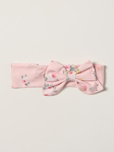 Monnalisa patterned band with bow