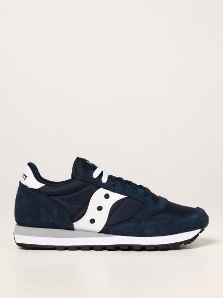 Sneakers Jazz Saucony in camoscio e nylon