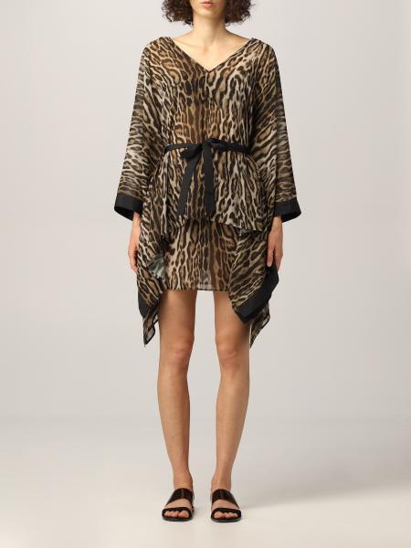 Roberto Cavalli: 连衣裙 女士 Roberto Cavalli