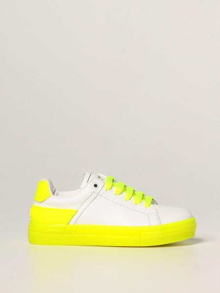Balmain leather sneakers