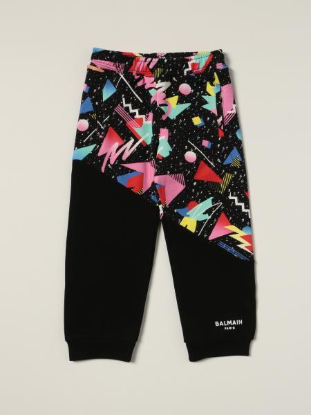 Balmain: Balmain jogging trousers with abstract print