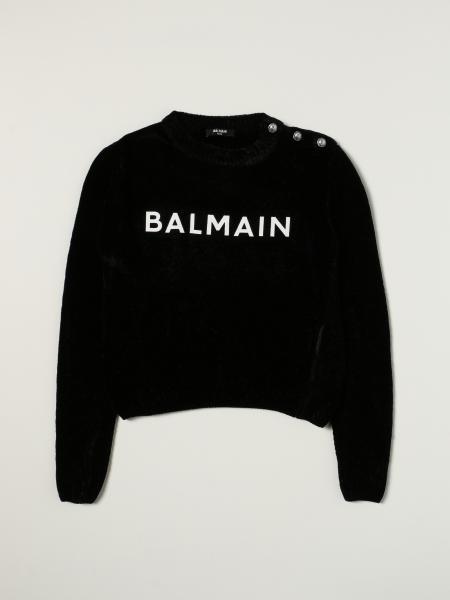 Maglia Balmain in cotone con logo