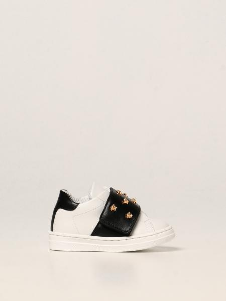 Sneakers Versace Young in pelle con mini Meduse