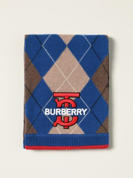 Burberry scarf in rhombus cashmere