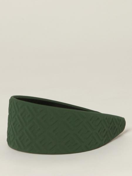 Fendi headband with embossed FF logo