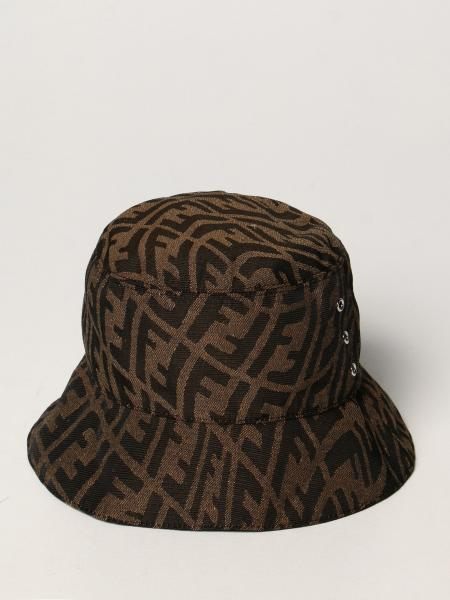 Fendi fisherman hat with all-over Vertigo logo