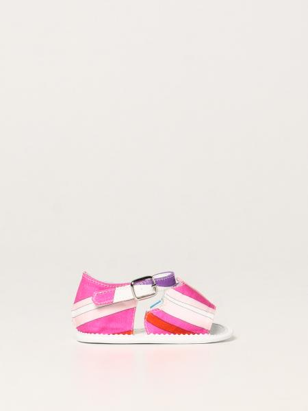Emilio Pucci shoes in printed cotton