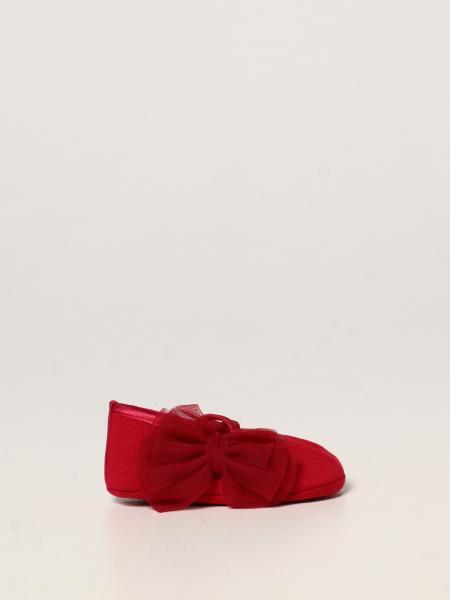 Monnalisa crib shoes set + hair band