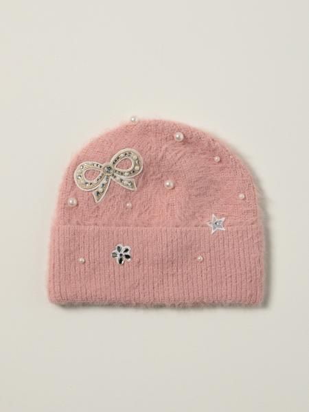 Monnalisa hat with pearls