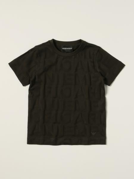 Emporio Armani T-shirt with embossed logo