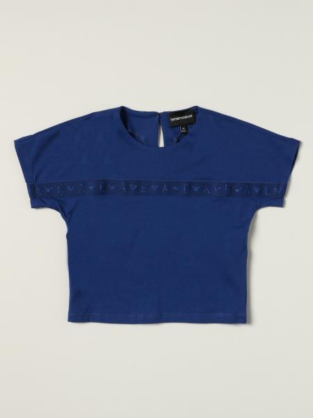 Emporio Armani T-shirt with logoed band