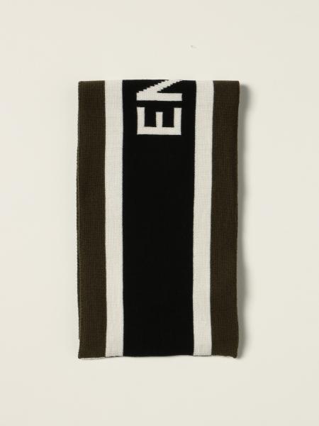 Emporio Armani banded scarf