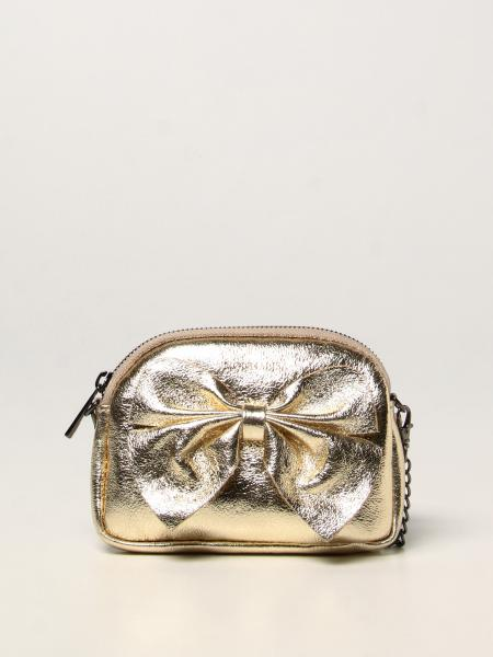 Monnalisa bag in hammered leather