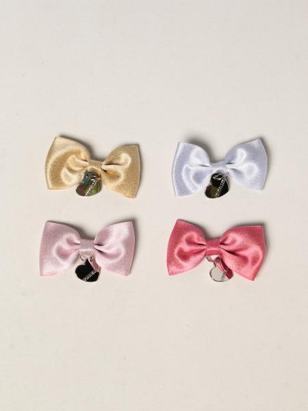 Hair clips with Monnalisa bow