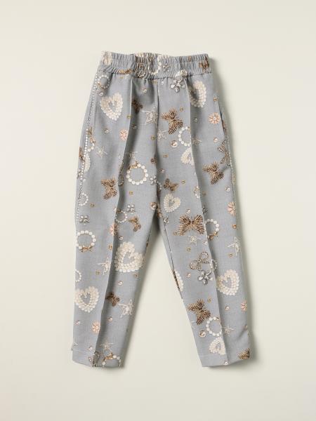 Monnalisa pants with all over print