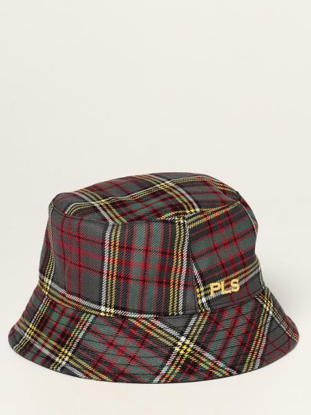 Philosophy Di Lorenzo Serafini hat in tartan wool