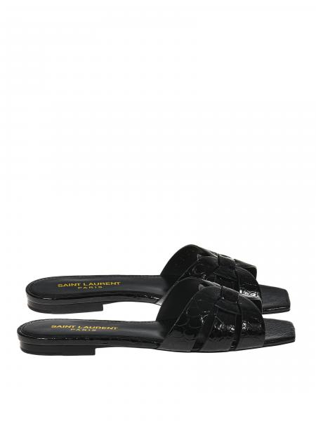 Saint Laurent für Damen: Flache sandalen damen Saint Laurent