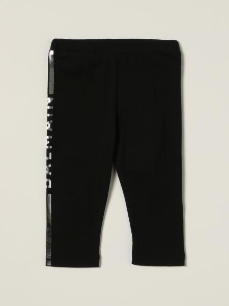 Balmain cotton trousers with laminated logo