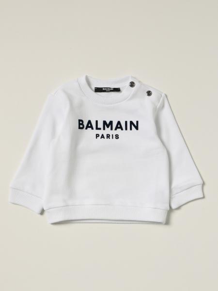 Balmain cotton jumper with logo