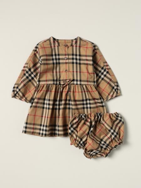 Burberry dress in stretch cotton with vintage check pattern