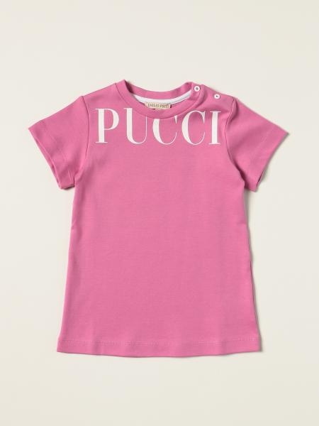 Emilio Pucci cotton dress with big logo