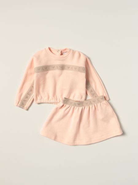 Emporio Armani sweatshirt + skirt set