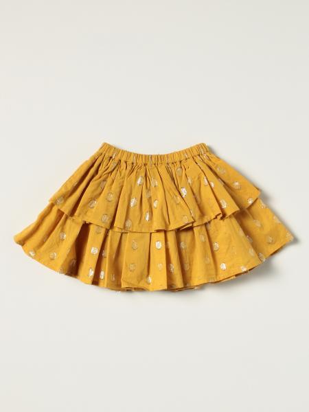 Molo mini skirt with lurex polka dots