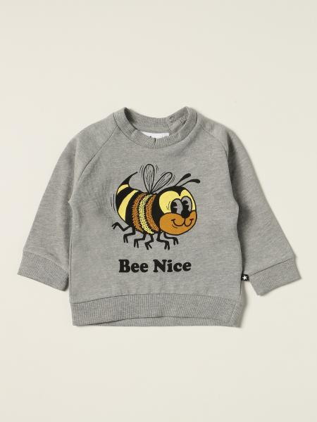 Molo sweatshirt in cotton with print