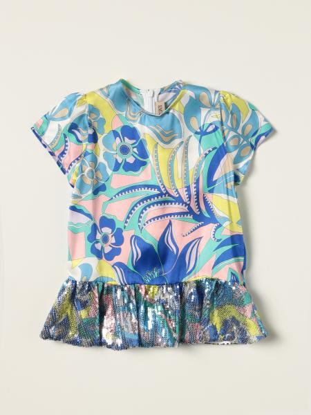 Emilio Pucci silk blend T-shirt