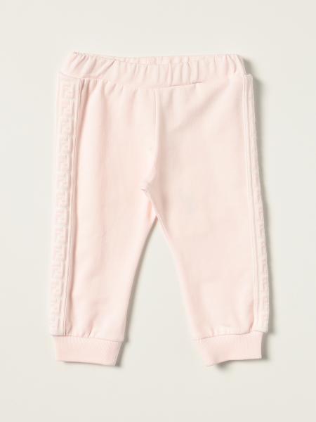 Pantalone jogging Fendi in misto cotone FF