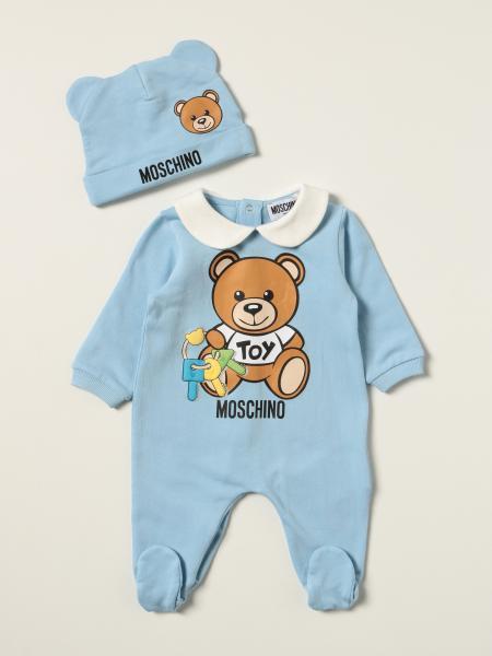 Moschino: Moschino Baby 连裤套脚 + 婴儿帽