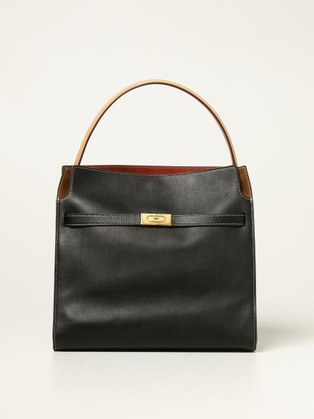 Lee Tory Burch leather and suede bag
