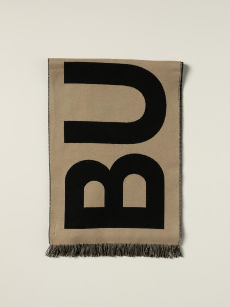 Burberry wool scarf with jacquard logo