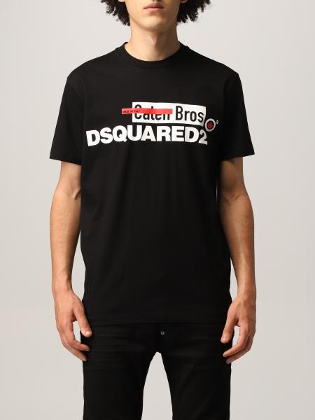 T-shirt Dsquared2 in cotone con stampa logo