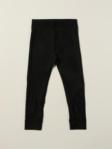 Burberry leggings in stretch jersey with logo