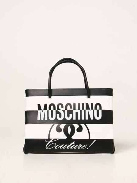 Moschino Couture bag in bicolor leather