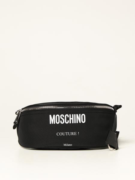 Sac ceinture en nylon Moschino Couture avec logo