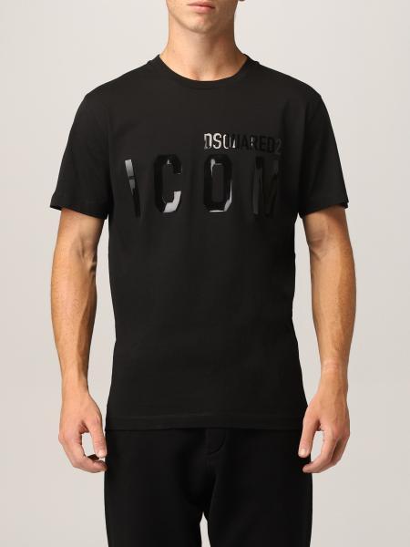T-shirt Dsquared2 con logo Icon