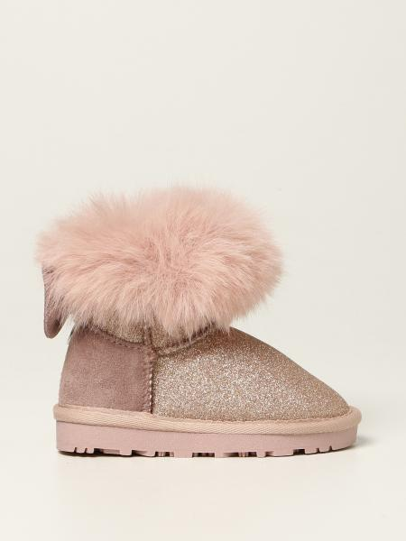 Monnalisa glitter ankle boot