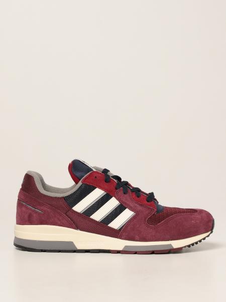 Sneakers Zx 420 Adidas Originals in mesh e camoscio