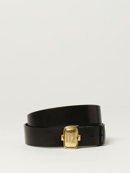 Dsquared2 men: Dsquared2 leather belt