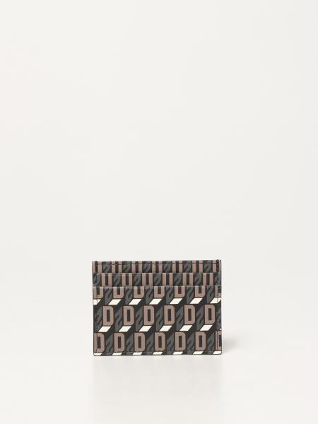 Dsquared2 men: Dsquared2 credit card holder in canvas
