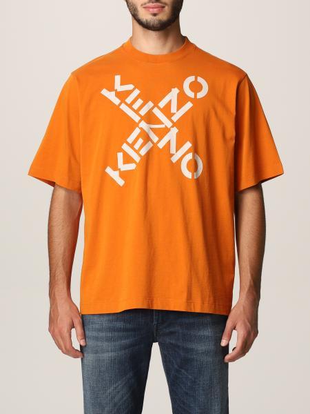 Kenzo men: Kenzo T-shirt with X logo