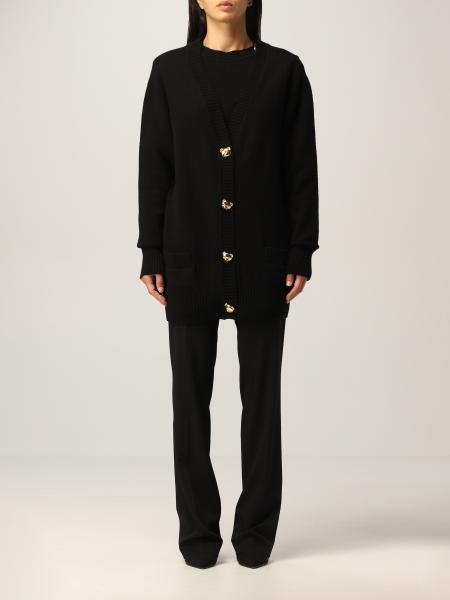 Cardigan Moschino Couture in misto cashmere e lana