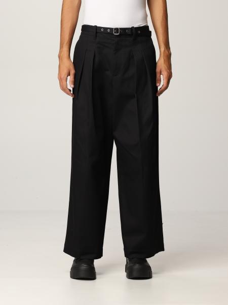Pantalone JW Anderson in gabardine di cotone