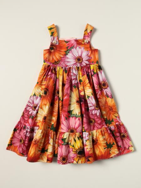 Dolce & Gabbana patterned cotton dress