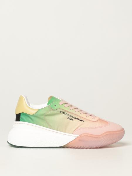Stella Mccartney donna: Sneakers Loop Stella McCartney in poliestere riciclato