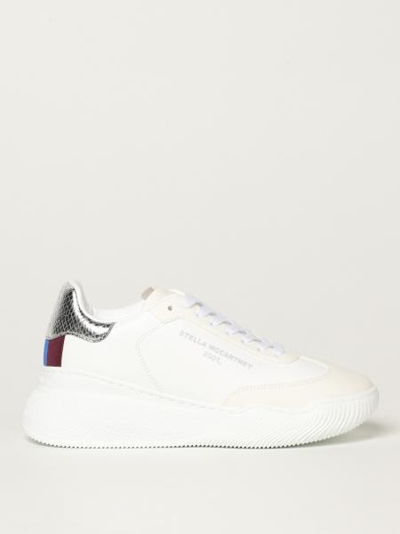 Stella Mccartney donna: Sneakers Loop Stella McCartney in pelle sintetica