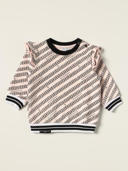 Felpa a girocollo Givenchy con logo all over