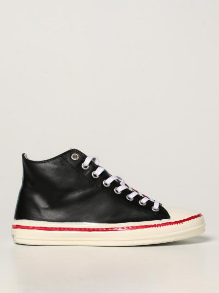 Marni trainers in leather